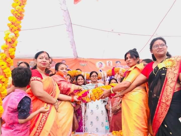 हमारी सरकार 'नया भारत , शसक्त महिला' के मूलमंत्र के साथ महिलाओं के शसक्तीकरण के लिए कर रही काम : अनुप्रिया पटेल