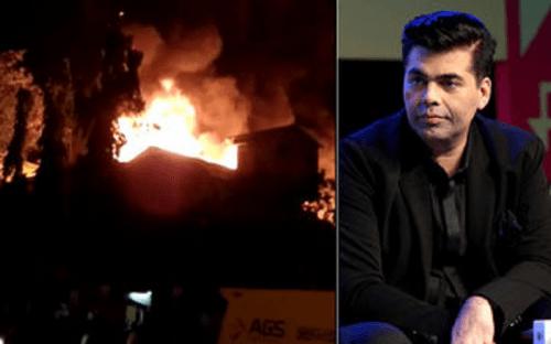 करन जौहर के धर्मा प्रोडक्शन हाउस के गोदाम में लगी आग,लाखों का नुकसान