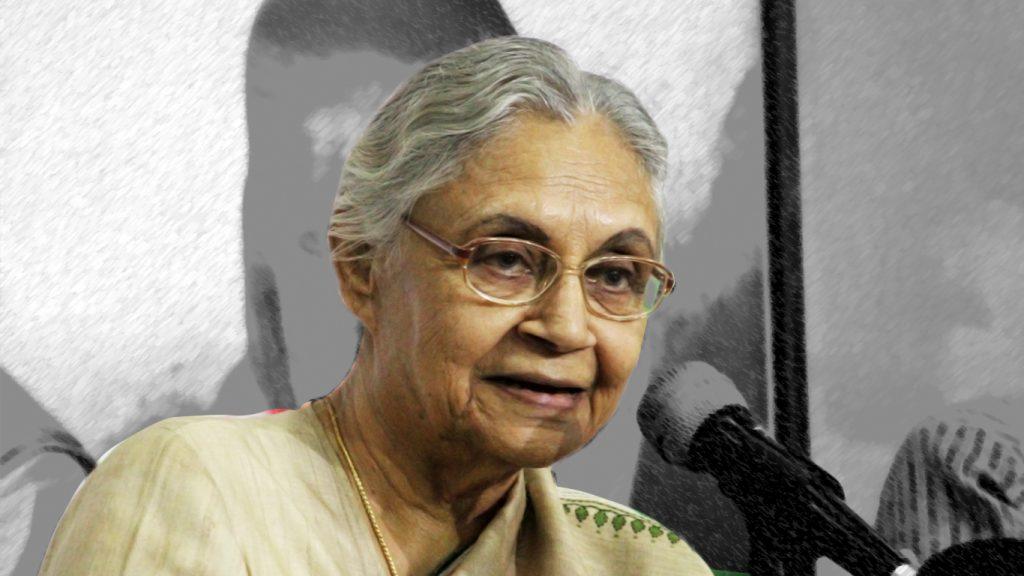 दिल्ली को अपनें हाथों से संवारने वाली शीला दीक्षित का निधन