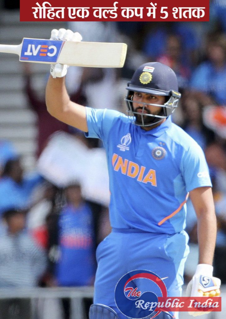 विश्व कप / टूर्नामेंट में भारत की सातवीं जीत, श्रीलंका को 7 विकेट से हराया; रोहित-राहुल का शतक