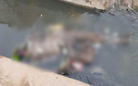 गोरखपुर: नाली में मिला युवती का शव, हत्या की आशंका