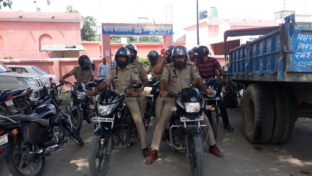 गोरखपुर में मोहर्रम और गणेश पूजा को लेकर प्रशासन अलर्ट