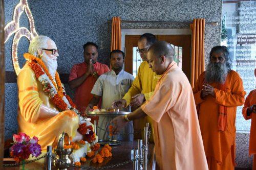 अभी-अभी: मुख्यमंत्री योगी आदित्यनाथ पहुंचे गोरखपुर, कई कार्यक्रमों में होगें शामिल