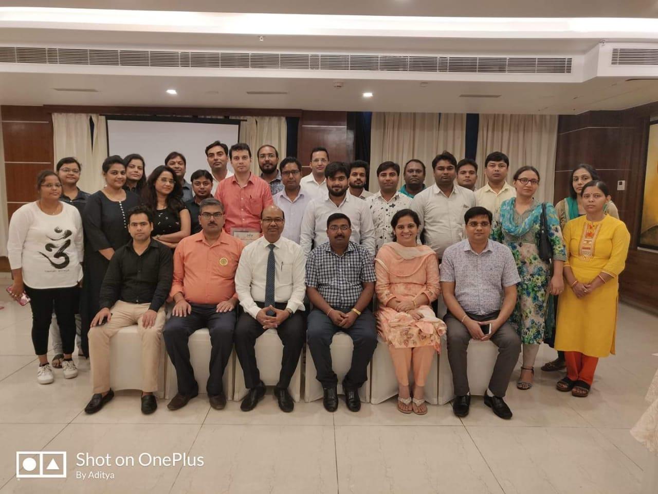इंडियन डेंटल एसोसिएशन द्वारा कंटिन्यू डेंटल एजुकेशन कार्यक्रम का आयोजन