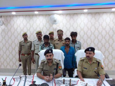 श्रावस्ती: मल्हीपुर और सिरसिया पुलिस को मिली बड़ी सफलता, अंतर्जनपदीय चोर गिरोह गिरफ्तार