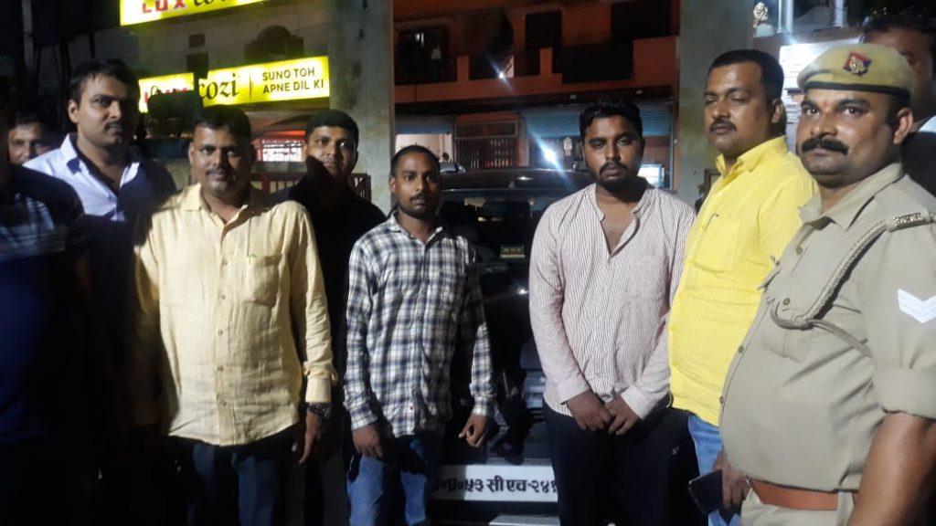 वर्दीधारी पुलिस वालों को गाली देने वाले मनबढ़ हुए गिरफ्तार