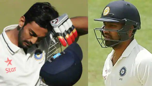 बिना खता खोले प्रैक्टिस मैच में रोहित 0 पर आउट, टीम से बाहर राहुल ने जड़ा शतक