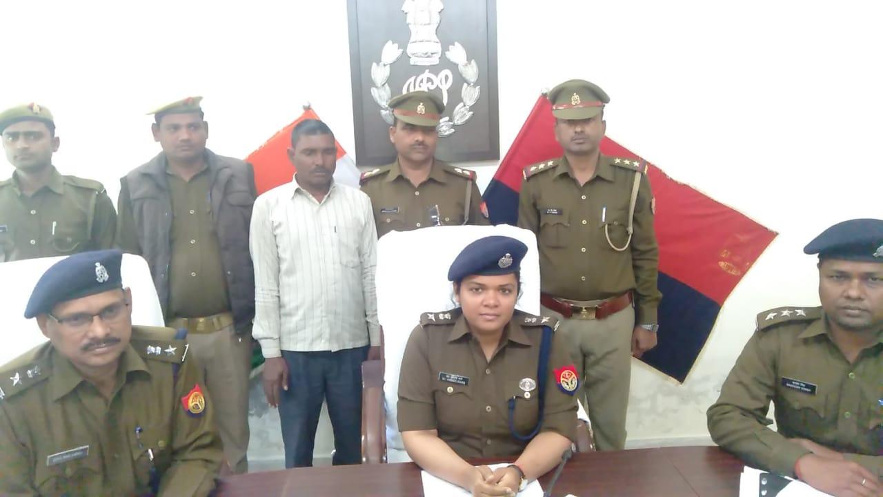 अमेठी पुलिस की कामयाबी, 20 हजारिया कुख्यात गिरफ्त में